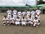 石巻ロータリークラブ野球大会第三位